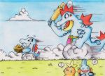Totodile the Thief by GTS257-CT