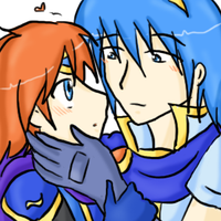 Roy x Marth... by SparxPunx