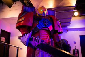 Blood Angels Assault Marine costume by GetWhimsical