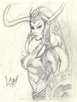 Loki pencils by MichaelDooney