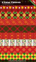 Free XMAS Patterns by Romenig