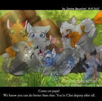 Family-Scene by JB-Pawstep