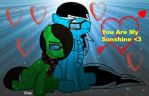 You are my sunshie by Dj-Zeny
