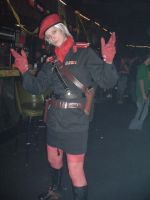 Ha ha Major Ocelot in a skirt. by Jackov