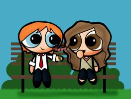 Ron and Hermione Potterpuffs by gryfndrprefct347
