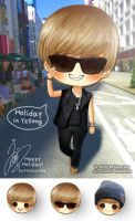 Holiday in Yesung by MyCherishe