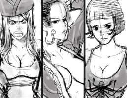 girls one piece advance by Kyoffie12