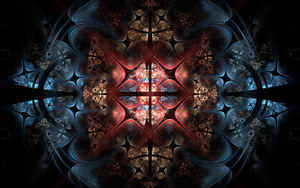 bluered crosses by Andrea1981G
