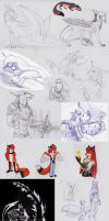 Sketches.Mixed 9 by Deygira-Blood