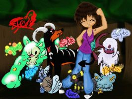 My Pokemon Team by Stepzzi