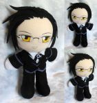 Commission, Plushie Claude Faustus by ThePlushieLady