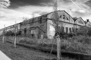 Abandoned halls 2 by Nocturael