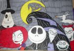 The Nightmare before Christmas by 7j6