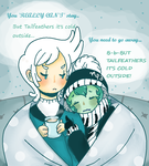 But Tailfeathers It's Cold Outside by Ask-MusicPrincess3rd