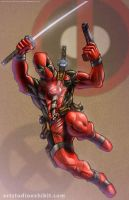 Deadpool 11x17 by artstudio
