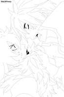 Fairy Tail 369 - Lineart by KhalilXPirates