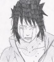 Sasuke Crying by melia161