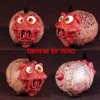 Rot Insane Piggy Bank small by Undead-Art
