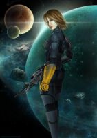 Shepard by shalizeh