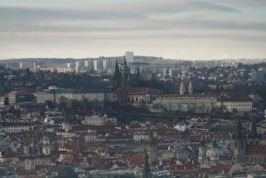 Prague Castle by Chiron178