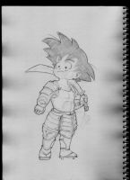 Son Goku the samurai warrior??? by MadPorcupine