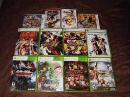 My Fighting game Collection by julianDB92