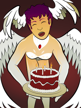 An Angelic Birthday by Cylable