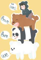 We bare bears by eweropi