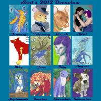Soul's 2012 Overview by Soulful-Purple-Wolf