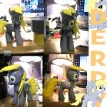 Duct Tape Derpy by murkrowzy