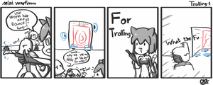 Mini Warframe - Trolling ( Warframe Fan Cartoon) by Orknology