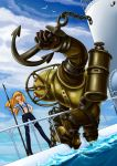 White submarine: Asuka VS Big Daddy by Lord--Opal