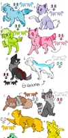 Point Adoptable Batch 1 by snickums10