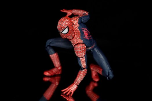Mafex Amazing Spider-Man 2 03 by Infinitevirtue