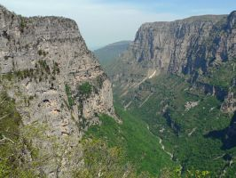 Vikos Gorge 1 by Hansmar