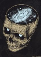 Skull galaxy1 by TimurKhabirov