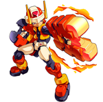 MMZX Ultimus: The Flame Mega Man by ultimatemaverickx
