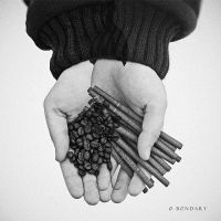 Coffee and Cigarettes by B0NDART