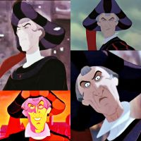Frollo's Best Expressions #1 by Claudette900