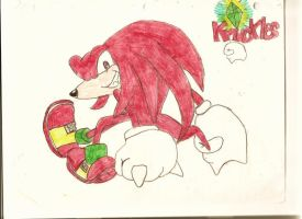 Knuckles the Echinda by LunaButterfly-chan