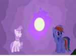 Rainbow Dash and Twilight for somethingrandom789 by studentofdust