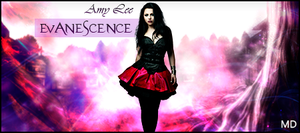 Amy lee Sign BoxGfx by MaiconDesp