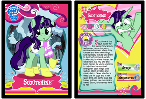 Scoutshine Trading Card by RinMitzuki