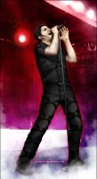 Dero on da stage by DianaCrimsonia