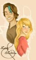 Teddy and Victoire by MioneBookworm