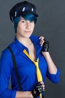 suspenders and stuff by douzocosplay