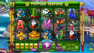 Slot machine - Fortune keepers by artforgame
