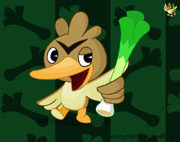 Farfetch'd as a HTF by SomeDumbDeviant