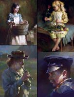 Oilpainting Studies in Painter by zhuzhu