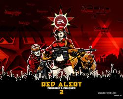 Red Alert 3 wallpaper by Vokr